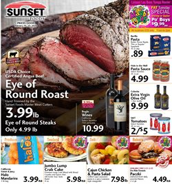 Sunset Foods catalogue ( Expires today )