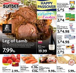 Sunset Foods catalogue ( 1 day ago )