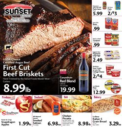 Sunset Foods catalogue ( Expired )