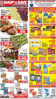 Shop 'n Save catalogue ( Expires today )