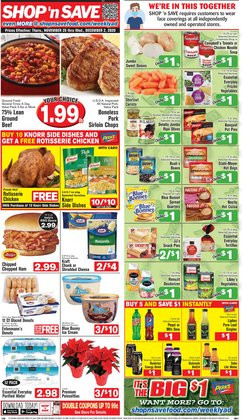 Grocery & Drug offers in the Shop 'n Save catalogue in Chesterfield MO ( 2 days left )