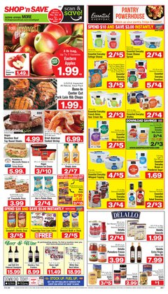 Grocery & Drug deals in the Shop 'n Save catalog ( Published today)