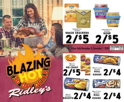 Ridley's Family Markets catalogue ( More than a month )