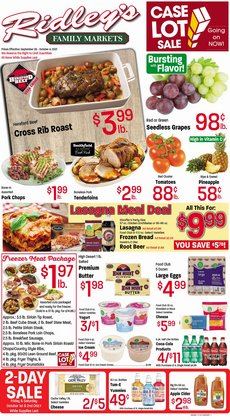 Grocery & Drug deals in the Ridley's Family Markets catalog ( 6 days left)