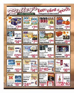 Ridley's Family Markets deals in the Ridley's Family Markets catalog ( 16 days left)