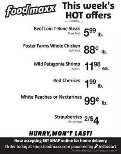 Foodmaxx deals in the Foodmaxx catalog ( Expires today)