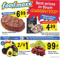 Grocery & Drug deals in the Foodmaxx catalog ( Published today)