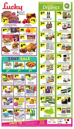 Lucky Stores deals in the San Jose CA weekly ad