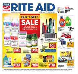 Rite Aid deals in the Christiansburg VA weekly ad
