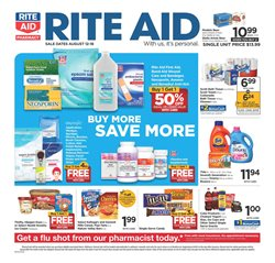 Matches deals in the Rite Aid weekly ad in Roswell GA