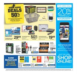 Tablet deals in the Rite Aid weekly ad in New York