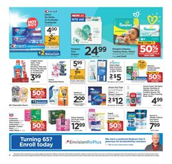 Diapers deals in the Rite Aid weekly ad in New York
