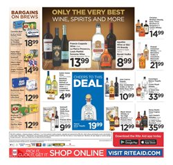 Wine deals in the Rite Aid weekly ad in San Jose CA