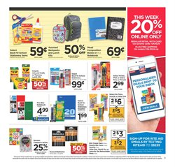 Gel deals in the Rite Aid weekly ad in Poughkeepsie NY