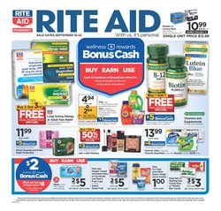Rite Aid deals in the Berkeley CA weekly ad