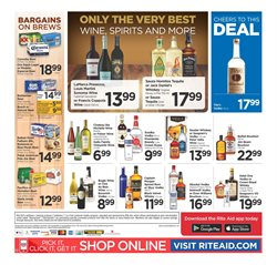 Wine deals in the Rite Aid weekly ad in Concord CA