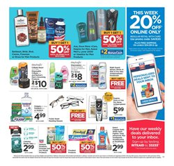 Toothbrush deals in the Rite Aid weekly ad in New York