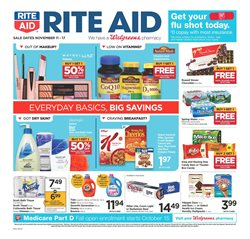 Nestle deals in the Rite Aid weekly ad in Federal Way WA