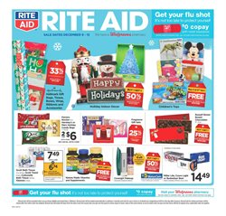 Rite Aid deals in the Evansville IN weekly ad
