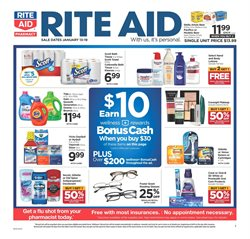Makeup deals in the Rite Aid weekly ad in Muskegon MI