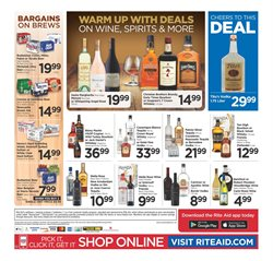 Whiskey deals in the Rite Aid weekly ad in New York