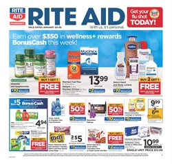 Rite Aid deals in the San Antonio TX weekly ad