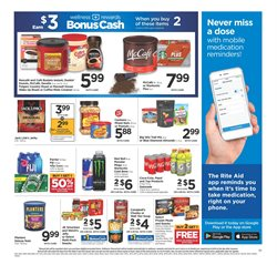 Saw deals in the Rite Aid weekly ad in Redding CA
