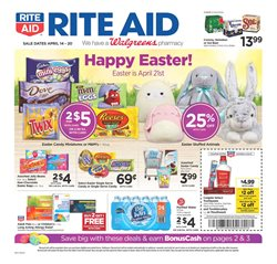 Rite Aid deals in the Aiken SC weekly ad