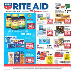 Rite Aid deals in the Zanesville OH weekly ad