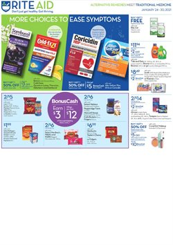 Grocery & Drug offers in the Rite Aid catalogue in Fontana CA ( 3 days left )