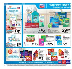 Diapers deals in the Rite Aid weekly ad in Los Angeles CA