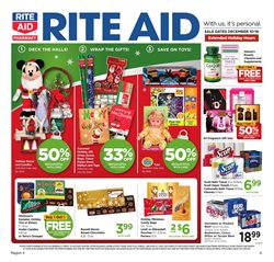 Rite Aid deals in the Allegan MI weekly ad