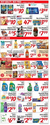 Water deals in the Rouses weekly ad in Lafayette LA