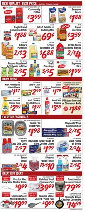 Makeup deals in the Rouses weekly ad in Lafayette LA