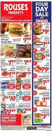 Rouses deals in the Metairie LA weekly ad