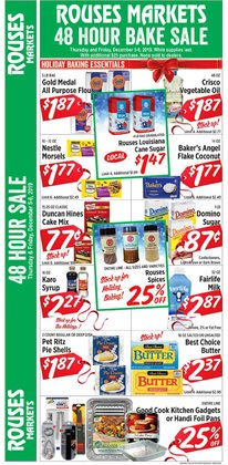 Grocery & Drug deals in the Rouses weekly ad in Metairie LA