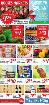 Grocery & Drug deals in the Rouses catalog ( 2 days left)