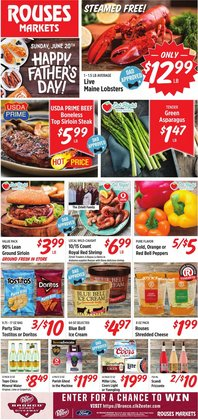Grocery & Drug deals in the Rouses catalog ( Expires today)
