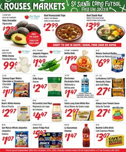 Grocery & Drug deals in the Rouses catalog ( Published today)