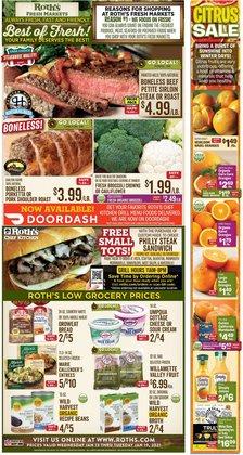Roth's Fresh Markets catalogue ( Expired )