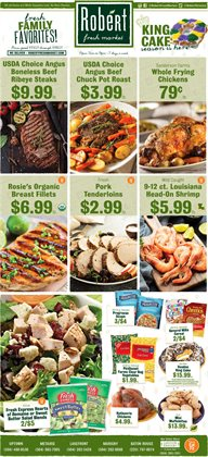 Robert Fresh Market catalogue ( Expires today )