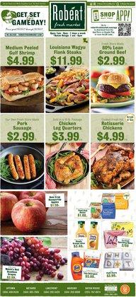 Robert Fresh Market deals in the Robert Fresh Market catalog ( 1 day ago)