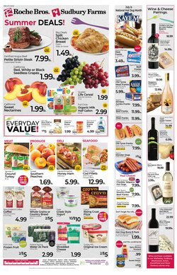 Grocery & Drug deals in the Rochebros catalog ( Expires today)