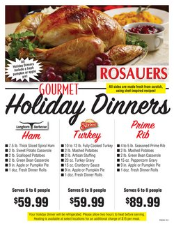 Rosauers deals in the Bozeman MT weekly ad