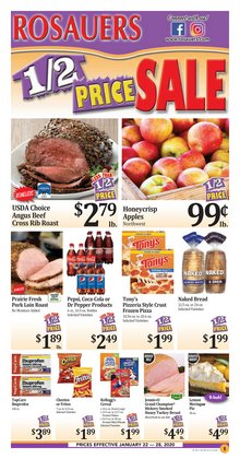 Rosauers deals in the Spokane WA weekly ad