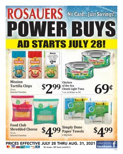 Grocery & Drug deals in the Rosauers catalog ( 1 day ago)