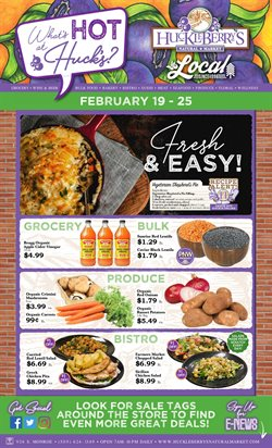 Huckleberry's Natural Market catalogue ( Published today )