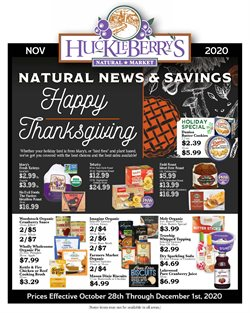 Huckleberry's Natural Market catalogue ( 7 days left )