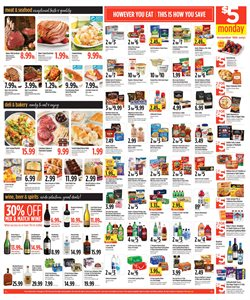 Wine deals in the Nob Hill weekly ad in Concord CA