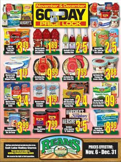 Reams deals in the Salt Lake City UT weekly ad